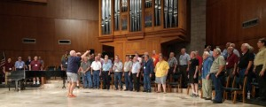 Recording session at University United Methodist June 2016